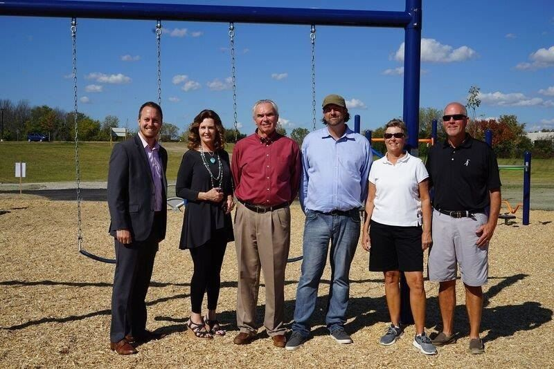 Greenwood Ribbon Cutting - Campus Park
