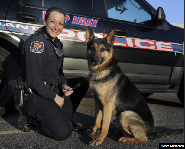 K-9 Brutus & Officer Knierim