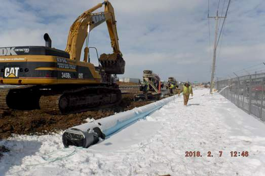 SJZ Pipe Laying Operation